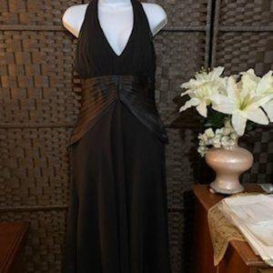 SL Fashions Size 10 Black Cocktail Dress